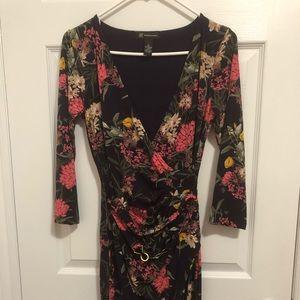 NWOT INC Violet Wrap Dress